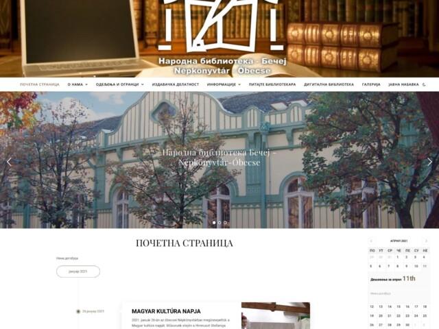 narodna biblioteka bečej